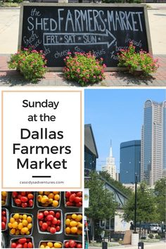 As part of my summer birthday celebration, my boyfriend and I visited Dallas Farmers Market to explore all the specialty Texas products and fresh local produce not found in grocery stores