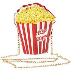 373ffb2a9 Easydeal Novelty Crossbody Bags Shoulder Bags Handbag for Woman (Popcorn)  Pop Bag, Frites