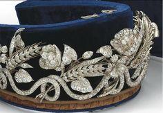 Antique Diamond Tiara ~ mid-19th Century