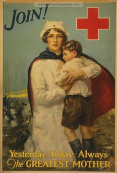 American Red Cross nurse holding boy. Date Created/Published: New York: Snyder & Black, Inc., 1917?