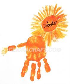 quin's alphabet book Handprint Lion Craft Project – Cool Ideas How to Paint a Handprint Lion School Art Projects, Projects For Kids, Craft Projects, Crafts For Kids, Classroom Crafts, Preschool Crafts, Daniel And The Lions, Lion Craft, Footprint Crafts