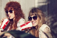 Hella Deap Crushes #6 and #7: Lindsey Troy first, then Julie Edwards. Deap Vally.