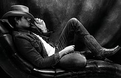 """London's Seventh Man outfitted Brazilian model Marlon Teixeira in Levi's, D, Missoni and a classic Stetson hat for its rugged, Western-themed """"Lone Ranger"""" editorial. Styled by Julie Ragolia & photographed by Matteo Zini. Marlon Teixeira, Cowboy Up, Cowboy Boots, Modern Hepburn, Hot Cowboys, Bull Riders, Lone Ranger, Brazilian Models, Country Boys"""