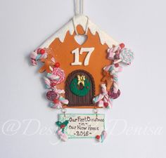 First Christmas In Our New Home Personalised New Home Gift Christmas Decoration