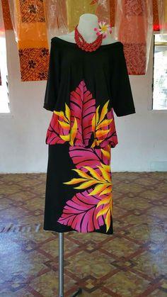 Island Wear, Island Outfit, Samoan Dress, Island Style Clothing, Fabric Printing, Island Design, Different Dresses, Fashion Outfits, Womens Fashion