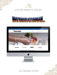 This was a custom WordPress website built for Water Heater Man, Inc., a Southwest water heater service and repair company, using GeneratePress and Elementor.