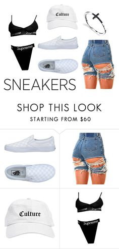 """So Fresh"" by mani-stylez ❤ liked on Polyvore featuring Vans"