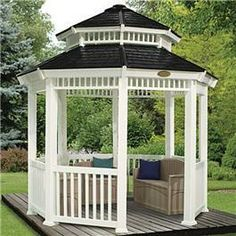 The BillyOh Suncast Open Gazebo is an ideal way of creating a vocal or centre point in your garden, it will provide both a place of shade for the summertime so you can dine alfresco and entertain friends or it can be used to protect you from sudden downpours. Not only does this gazebo have a practical use but it also adds to your gardens character be it a large or medium sized area.