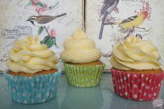 cupcakes de canela y vainilla #cupcakes #canela #vainilla