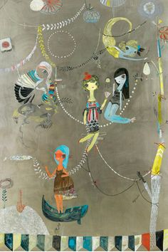 Sneak A Peek At Artist Kelly Tunstalls Whimsical Work For The New A16  #Refinery29