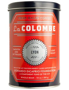 Coffee with a cause... LYON from La Colombe