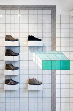 Camper shoe store in London//