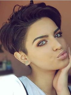 45 Trendy Short Haircuts for Pixie Hair in 2018. Wanna get fresh hair looks with short hair? Dont search anymore, just see here the most amazing ideas of pixie short haircuts and hairstyles to create in year 2018. This is quick, easy and feminine haircuts for short hair women in 2018. We've rounded up our favorite ideas of pixie short haircuts and styles to try now.