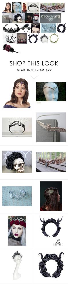 """""""Lanya's Headdresses and Headbands"""" by switchback13 on Polyvore featuring Lulu in the Sky, Disney, Vivien Sheriff and Accessorize"""