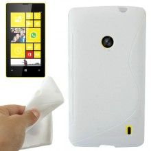 Funda Lumia 520 - Gel Sline Blanco  $ 33,62