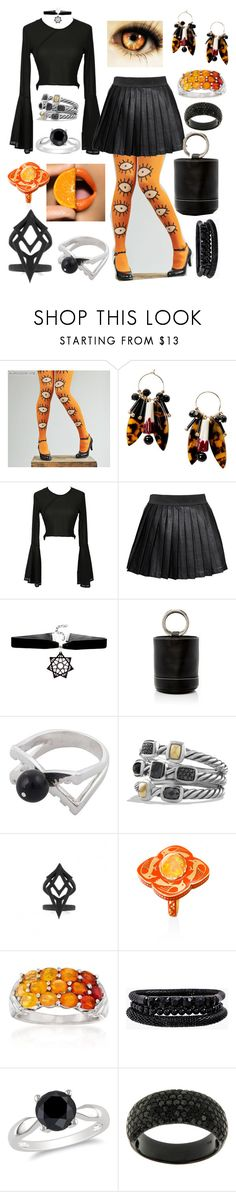 """""""Freshly Squeezed"""" by mandurugo ❤ liked on Polyvore featuring MANGO, Alice In The Eve, Simon Miller, NOVICA, David Yurman, The Rogue + The Wolf, Ross-Simons, Spring Street and Ice"""