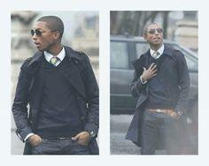 Pharrell Street Style