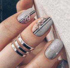 Metal Nail Polish, Alonea Shinny Color Gel, Metallic Nail Polish Magic Mirror Effect Chrome Nail Art Polish Shellac Nails, Diy Nails, Cute Nails, Pretty Nails, Nail Polish, Acrylic Nail Powder, Acrylic Nail Art, Nail Art Tool Kit, Manicure E Pedicure