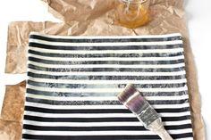 DIY Waxed Canvas Tote Bag Tutorial