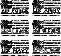 Choose the military branch, your color, and size then continue to checkout. The unique Oracal face film is mil which splits the difference between 2 mil cast vinyls and most 3 mil calendared films. Silhouette Cameo Projects, Silhouette Design, Cricut Vinyl, Vinyl Decals, Wall Stickers, Wall Decals, Wall Art, Truck Decals, Wall Vinyl