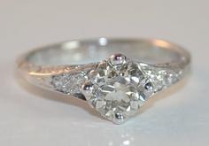 art deco engagement ring-beautiful!