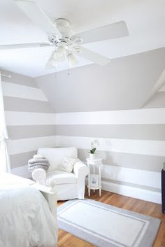 This Little House of Mine: Striped Wall Inspiration