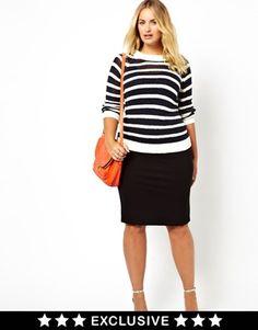 Junarose exclusive Pencil Tube Skirt