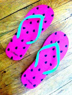 Watermelon Flip-flops from Target Watermelon Patch, Watermelon And Lemon, Flip Flops, Target, Sugar, Fresh, Shoes, Watermelon, Water
