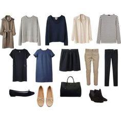 「フランス人は10着しか服を持たない」から学ぶコーデ術♡ - Locari(ロカリ)