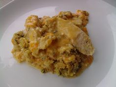 From The Kitchen Of: Mrs. Bettie Rocker: Chicken and Stuffing Casserole