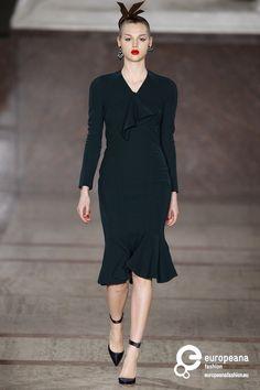 Zac Posen , Autumn-Winter 2012, Womenswear on www.europeanafashion.eu