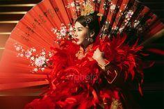 打造明星級中國風婚紗照|禮服穿搭、新娘髮型、道具、捧花全解構