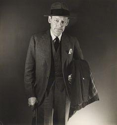 T. S. Eliot byGeorge Platt Lynes, c. 1950 (NPG, London)