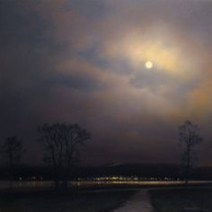 "https://www.facebook.com/MiaFeigelson ""Spanish banks nocturne"" (2013) By Renato Muccillo, from Canada - oil on panel; 11 x 11 in - http://renatomuccillo.com/home.html https://www.facebook.com/pages/Renato-Muccillo-Fine-Arts-Studio/104517059583818"