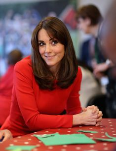 The Duchess Of Cambridge Attends The Anna Freud Centre Family School Christmas Party on December 15, 2015