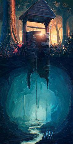 Brilliant digital illustrations by fantasy concept art, digital art fantasy, anime art fantasy Illustration Inspiration, Art And Illustration, Art Illustrations, Fantasy World Illustration, Creative Illustration, Fantasy Places, Wow Art, Amazing Art, Amazing Photos