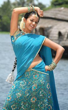 Pooja gandhi | Hot Saree | Pinterest | Saree and Fashion