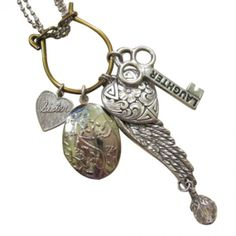 Charm Necklace.  #necklaces #jewelry 9thelm.com