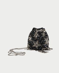 9bf48b310a73 BEADED STARS CROSSBODY BUCKET BAG - BAGS-SALE-WOMAN
