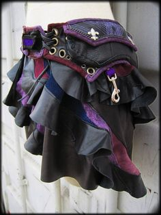 miniskirt hip pouch, lots and lots of ideas