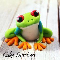 Treefrog cake topper