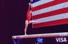 (gif of Sarah Finnegan's front aerial+back pike) I played with Sarah when we were little! Gymnastics Events, Gymnastics Videos, Mary Lou Retton, Ray Ray, Secret Love, I Work Out, Going To The Gym, Ice Skating, Fitness Goals