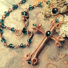Scrolls and Coils Rosary | JewelryLessons.com