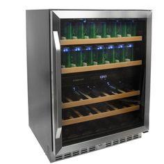 EdgeStar 24 Inch Built-In Wine and Beverage Cooler Video Image