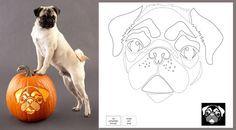 Get Crafty: Downloadable Dog Breed Pumpkin Stencils!