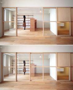 Interior Sliding Barn Doors For Homes Interior Styling, Interior Decorating, Interior Design, Interior Architecture, Interior And Exterior, Exterior Doors, Office Interiors, House Rooms, Innovation Design