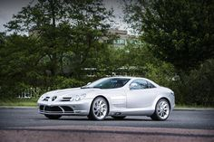 """2005 Mercedes-Benz SLR McLaren Coupé  - estimate £180,000 - 220,000. """"Supplied new to the Berlusconi family"""" and a future classic."""