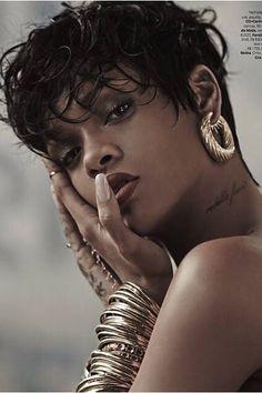 Rihanna for Vogue Brazil- 2014
