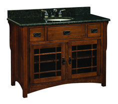 Amish Lancaster Mission Single Bathroom Vanity Cabinet Hardwoods Collection This bathroom vanity cabinet laboratory is Amish handcrafted in your choice of our selected wood options. Bathroom Vanity Makeover, Rustic Bathroom Vanities, Bathroom Vanity Cabinets, Single Bathroom Vanity, Bathroom Styling, Bathroom Interior Design, Modern Bathroom, Small Bathroom, Bathroom Ideas