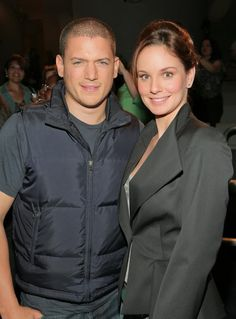 Wentworth Miller and Sarah Wayne Callies